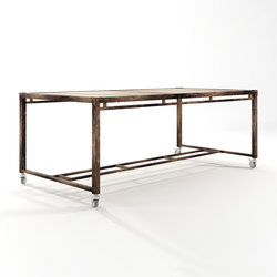 Atelier RECTANGULAR DINING TABLE | Tables de repas | Karpenter