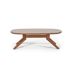Cross oval coffee table | Mesas de centro | Case Furniture
