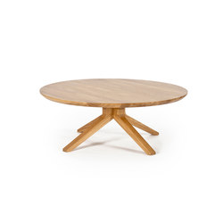 Cross round coffee table | Lounge tables | Case Furniture