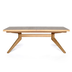 Cross extending table | Dining tables | Case Furniture