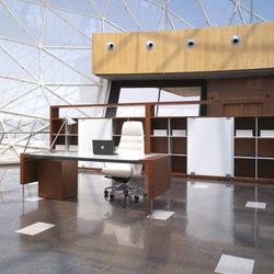 Prima Sinfonia tekacristal blanco | Executive desks | Ofifran