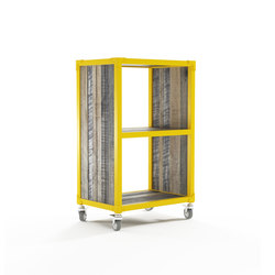 Atelier VERTICAL RACK 2 COMPARTMENTS | Shelves | Karpenter