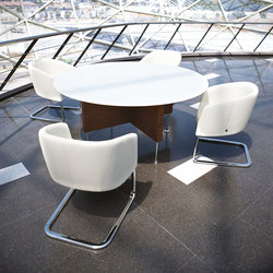 Prima Sinfonia juntas redonda cristal | Meeting room tables | Ofifran