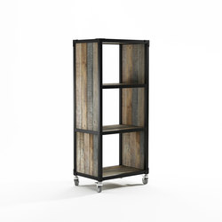 Atelier VERTICAL RACK 3 COMPARTMENTS | Librerías | Karpenter