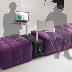 Connect | Lounge-work seating | Martex