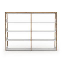 Lap shelving medium | Office shelving systems | Case Furniture