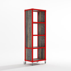 Atelier VERTICAL RACK 4 COMPARTMENTS | Shelving | Karpenter