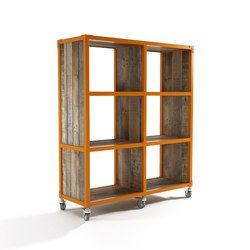 Atelier VERTICAL RACK 6 COMPARTMENTS | Shelving | Karpenter
