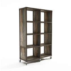 Atelier VERTICAL RACK 8 COMPARTMENTS | Librerías | Karpenter