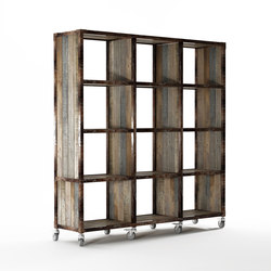 Atelier VERTICAL RACK 12 COMPARTMENTS | Shelving | Karpenter