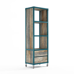 Atelier VERTICAL RACK 3 COMPARTMENTS 2 DRAWERS | Shelving | Karpenter