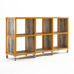 Atelier RACK HORIZONTAL 6 COMPARTMENTS | Shelving | Karpenter