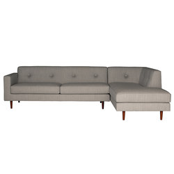 Moulton 3 seat sofa + corner unit | Canapés d'attente | Case Furniture