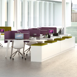 Vertebra | Desking systems | Martex