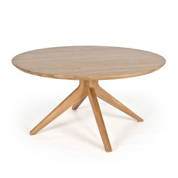 Cross round dining table | Tavoli da pranzo | Case Furniture