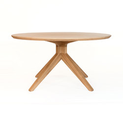 Cross round dining table | Restaurant tables | Case Furniture
