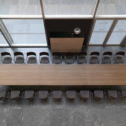 Mesas de conferencias-Conferencia-reunión-Urbana teak natural marron juntas-Ofifran