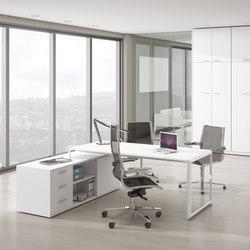Meta | Blanco | Blanco | Credencia | Individual desks | Ofifran