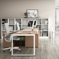 Escritorios individuales | Mesas de oficina