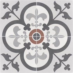 Cementine Comp-Giglio | Piastrelle/mattonelle per pavimenti | Valmori Ceramica Design