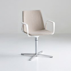 Akami L Bracciolo | Visitors chairs / Side chairs | Gaber
