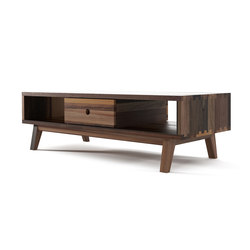 Brooklyn COFFEE TABLE 2 DRAWERS 2 NICHES | Mesas de centro | Karpenter
