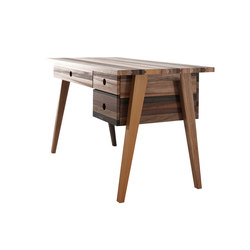 Brooklyn DESK TABLE 3 DRAWERS | Bureaux plats | Karpenter
