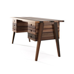 Brooklyn DESK TABLE 6 DRAWERS | Bureaux | Karpenter