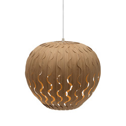 Belle Bamboo | Suspended lights | David Trubridge Studio