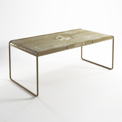 Deserter RECTANGULAR DINING TABLE | Dining tables | Karpenter