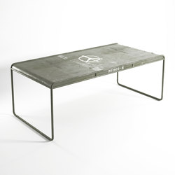 Deserter RECTANGULAR DINING TABLE | Tables de repas | Karpenter