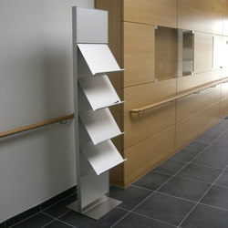 quintessenz magazine rack | Brochure / Magazine display stands | Meng Informationstechnik