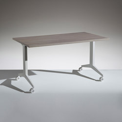 Flip folding table | Tables polyvalentes | Lamm