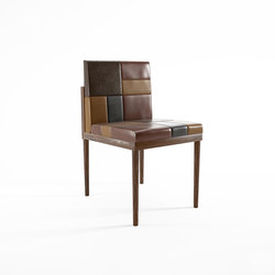Katchwork SIDE CHAIR | Sillas | Karpenter