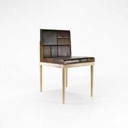 Katchwork SIDE CHAIR | Sedie | Karpenter