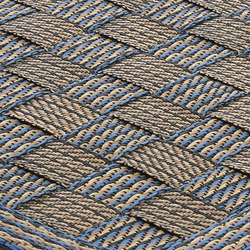 Flatbox blue | Formatteppiche | Miinu