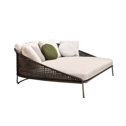 Aston Cord Outdoor Loveseat | Asientos isla | Minotti