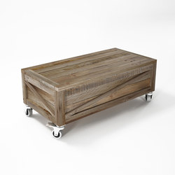 Krate RECTANGULAR TRUNK COFFEE TABLE | Tables basses | Karpenter