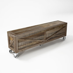Krate TRUNK BENCH | Benches | Karpenter