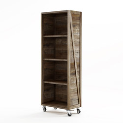 Krate VERTICAL DISPLAY RACK | Shelving | Karpenter