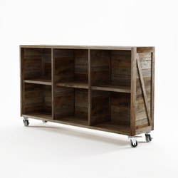 Krate HORIZONTAL DISPLAY RACK | Shelving | Karpenter