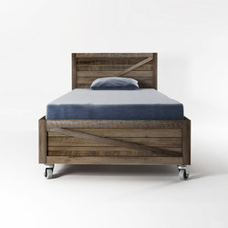 Krate  SINGLE SIZE BED | Letti singoli | Karpenter