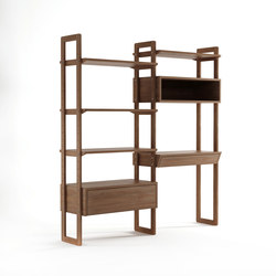 KWSU WALLSHELF UNIT - DOUBLE | Shelves | Karpenter