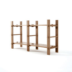 Ludik RACK H2 | Shelving modules | Karpenter