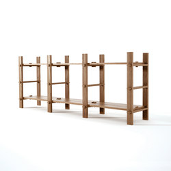 Ludik RACK H3 | Shelving modules | Karpenter