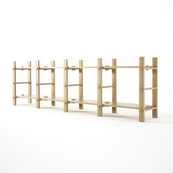 Ludik RACK H4 | Shelving modules | Karpenter