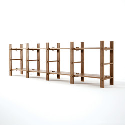 Ludik RACK H4 | Moduli libreria | Karpenter