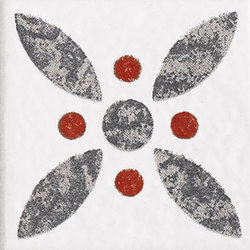 Le Crete Tozzetto Cementine Terra Bianca | Mosaici | Valmori Ceramica Design