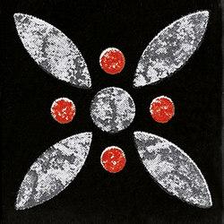 Le Crete Tozzetto Cementine Terra Nera | Ceramic mosaics | Valmori Ceramica Design