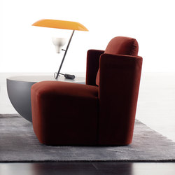 Keeton Armchair FIT | Lounge chairs | Meridiani